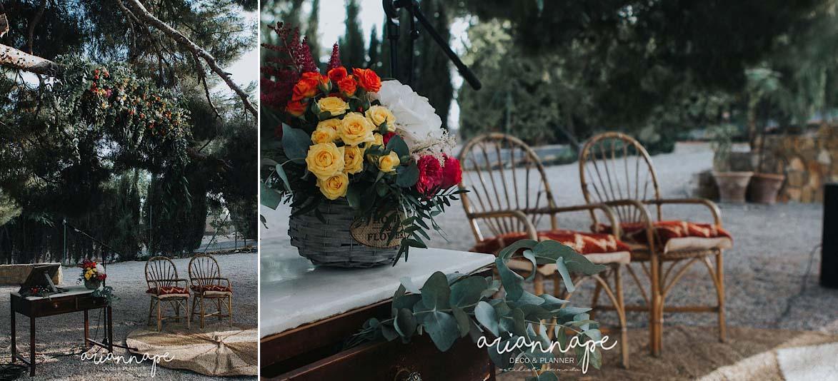 Decoradora y Organizadorade Bodas & Wedding Planner Murcia