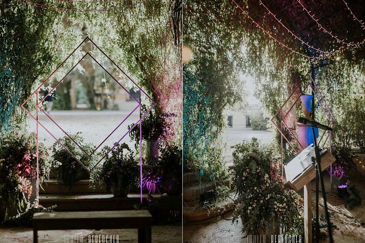Decoración Bodas Jardines de Abril Alicante